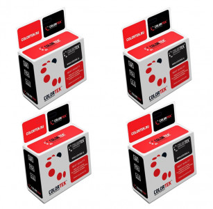 Набор совместимых картриджей Colortek T1701-T1704 C13T17014A10-C13T17044A10