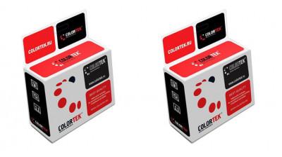 Набор совместимых картриджей Colortek T013-T014