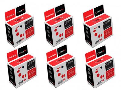 Набор совместимых картриджей Colortek 177 C8721HE-C8775HE