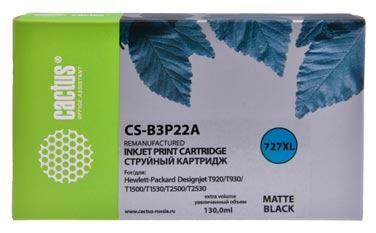 Совместимый картридж Cactus CS-727 MBK B3P22A