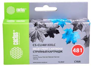 Совместимый картридж Cactus CS-CLI-481XXLC 1990C001