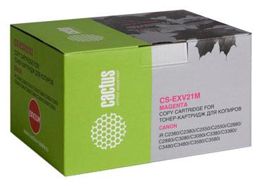 Совместимый картридж Cactus CS-C-EXV21M 0454В002