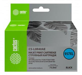 Совместимый картридж Cactus CS-957XL BK L0R40AE