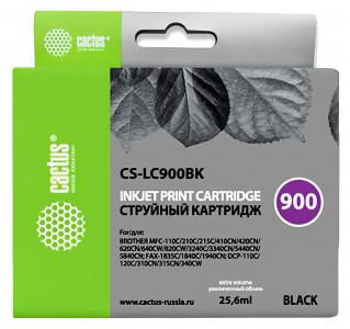 Совместимый картридж Cactus CS-LC-900BK