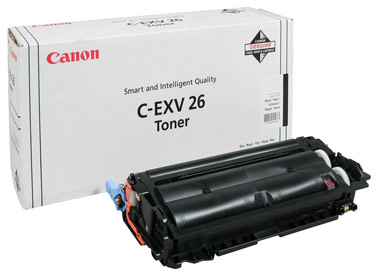 Оригинальный картридж C-EXV26Bk 1660B006
