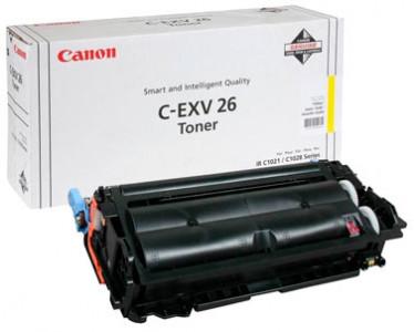 Оригинальный картридж C-EXV26Y 1657B006
