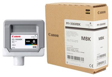 Оригинальный картридж PFI-306MBK 6656B001