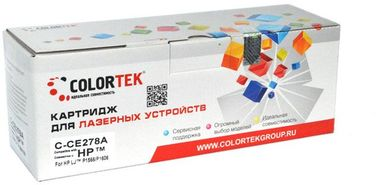 Совместимый картридж Colortek CE278A 78A