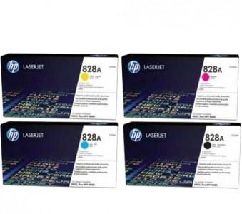 Набор оригинальных фотобарабанов CF358A-CF365 №828A