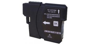 Совместимый картридж Brother LC-1100HYBK черный