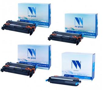 Набор совместимых картриджей NVP 711 1657B002-1660B002
