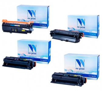Набор совместимых картриджей NVP 723 2641B002-2644B002