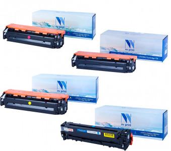 Набор совместимых картриджей NVP 731 6269B002-6272B002