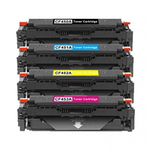 Набор совместимых картриджей NVP CF450A-CF453A
