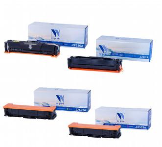 Набор совместимых картриджей NVP CF530A-CF533A