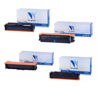 Набор совместимых картриджей NVP CF540A-CF543A