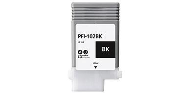 Оригинальный картридж PFI-102BK