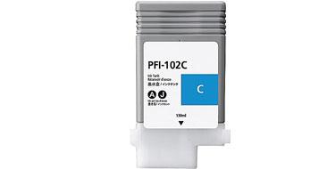 Оригинальный картридж PFI-102C