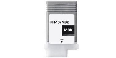 Оригинальный картридж PFI-107MBK
