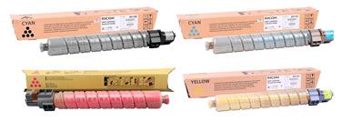 Набор оригинальных картриджей MPC5000 841160-841163