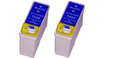 Двойная уп. совместимых картриджей Epson T0501 Twin C13T05014210 черный