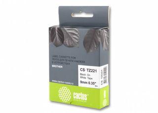 Совместимая лента для печати наклеек Cactus CS-TZe-221