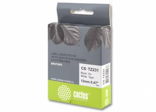 Совместимая лента для печати наклеек Cactus CS-TZe-231