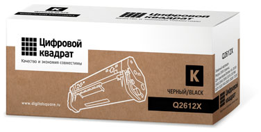Совместимый картридж HP Q2612X черный