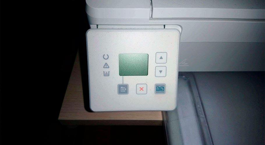 Панель управления МФУ HP LaserJet Pro M132a