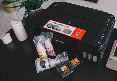 что входит в комплект принтера Canon PIXMA G3411