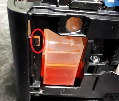 как добраться до ролика захвата принтера Canon PIXMA G3411