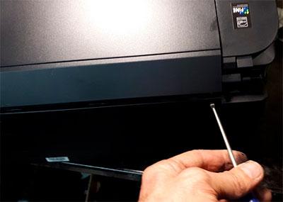 Как разобрать принтер с СНПЧ Canon PIXMA G3411