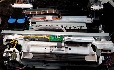 ремонт ролика захвата бумаги принтера с СНПЧ Canon G3411