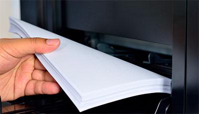 принтер печатает чистые листы бумаги что делать