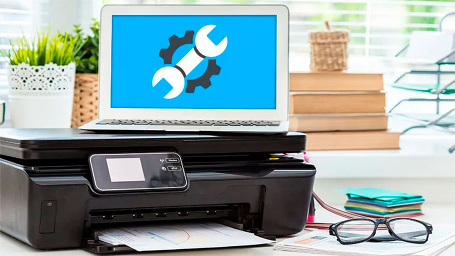ошибок нет но принтер не печатает