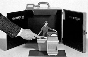 копир Xerox 914 считается первым ксероксом в мире