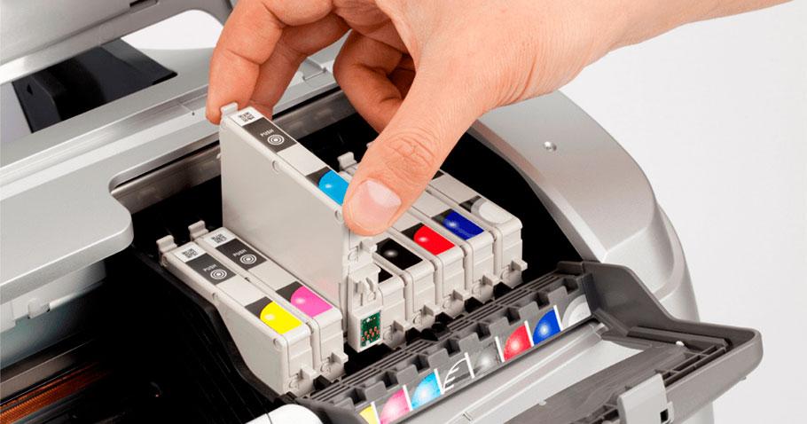 принтер пишет низкий уровень чернила