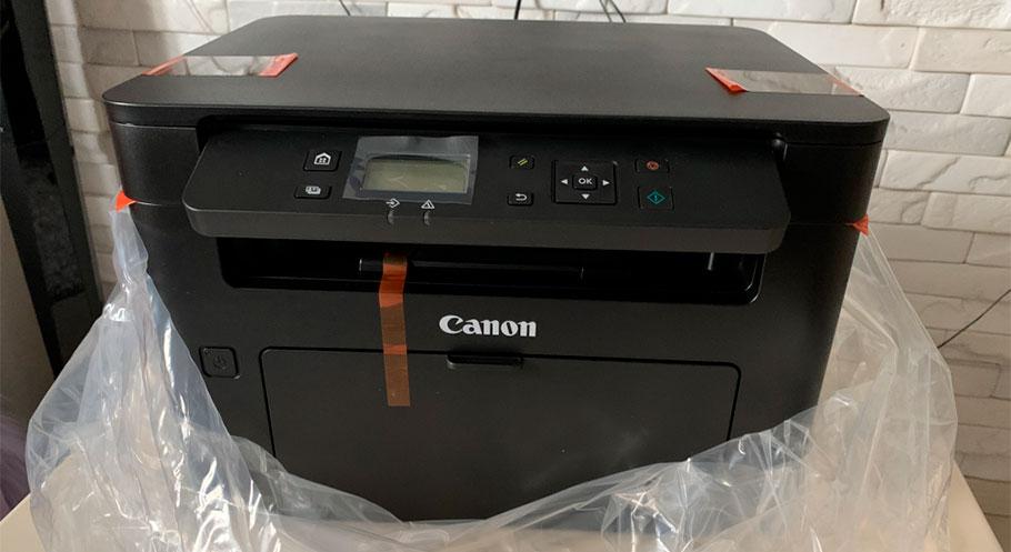 лучшее черно белое МФУ Canon для дома