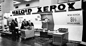 Haloid Xerox 914 первый ксерок
