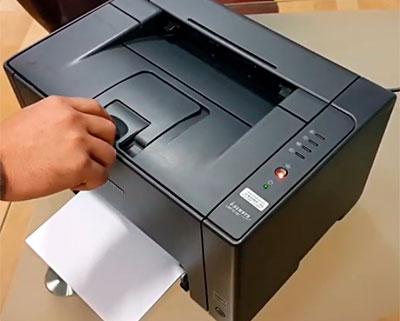 как достать картриджи с принтера Canon i-SENSYS LBP7010C