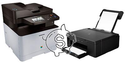какой принтер дешевле