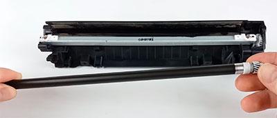 как заменить шестеренки картриджа canon 725
