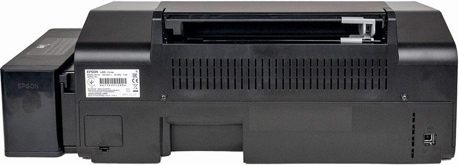 как настроить принтер Epson L805