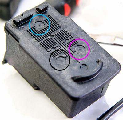 как правильно заправить картридж Canon CL-52